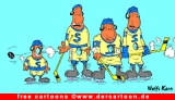 Hockey Cartoon kostenlos