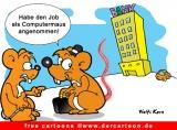 Computermaus cartoonbild gratis herunterladen