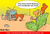 Hund Cartoon gratis