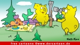 Jagd Cartoon kostenlos