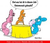 Osterhasen Cartoon kostenlos