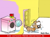 Waschmaschine Cartoon-Bild - Cartoons free online