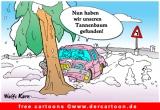 Kerstboom cartoon gratis