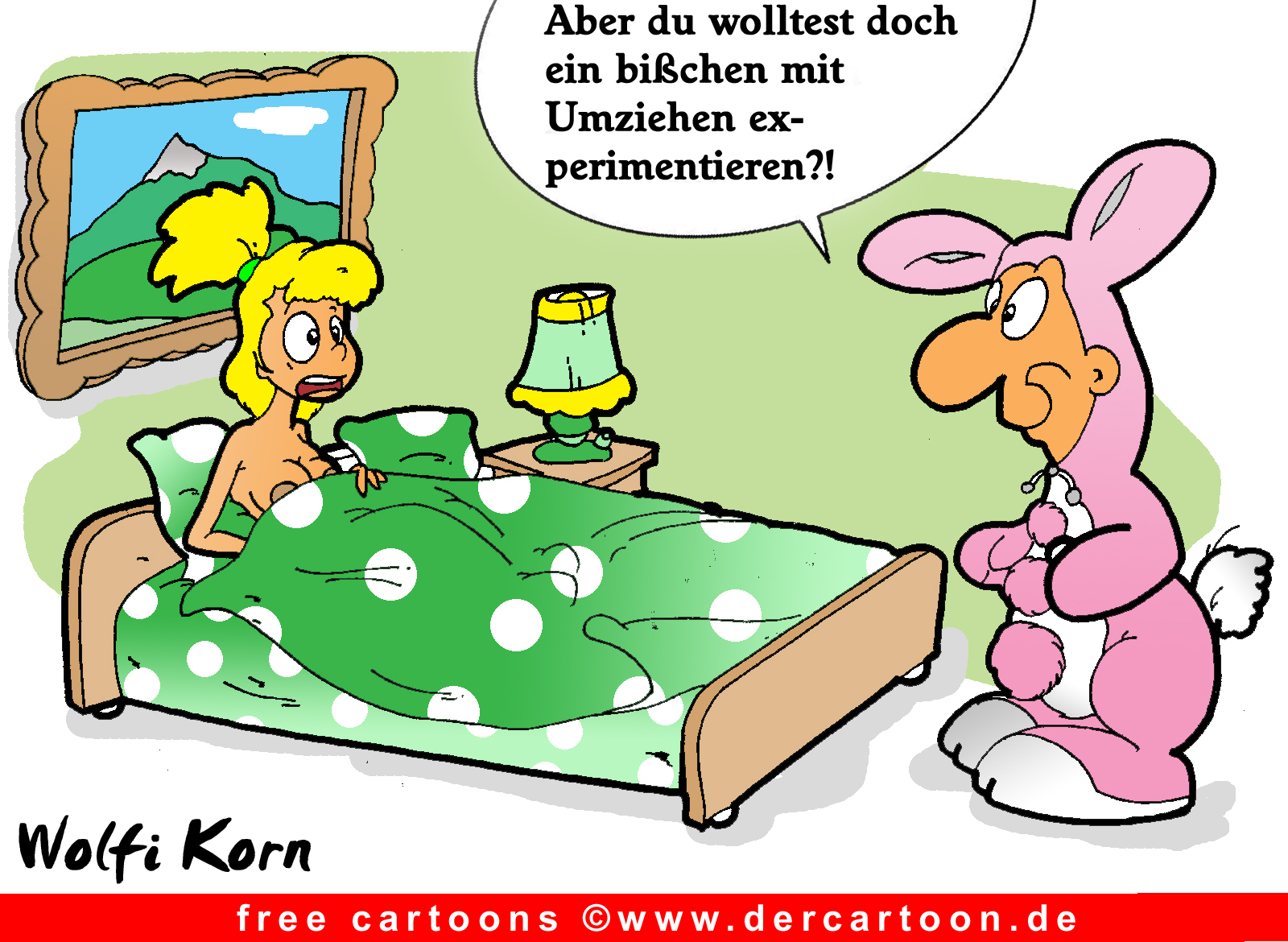 Sex auf Cartoon